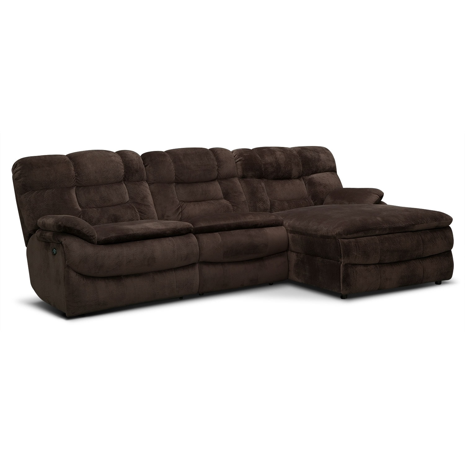 back of sofa facing fireplace designer clearance uk big softie 3 piece power reclining sectional with right