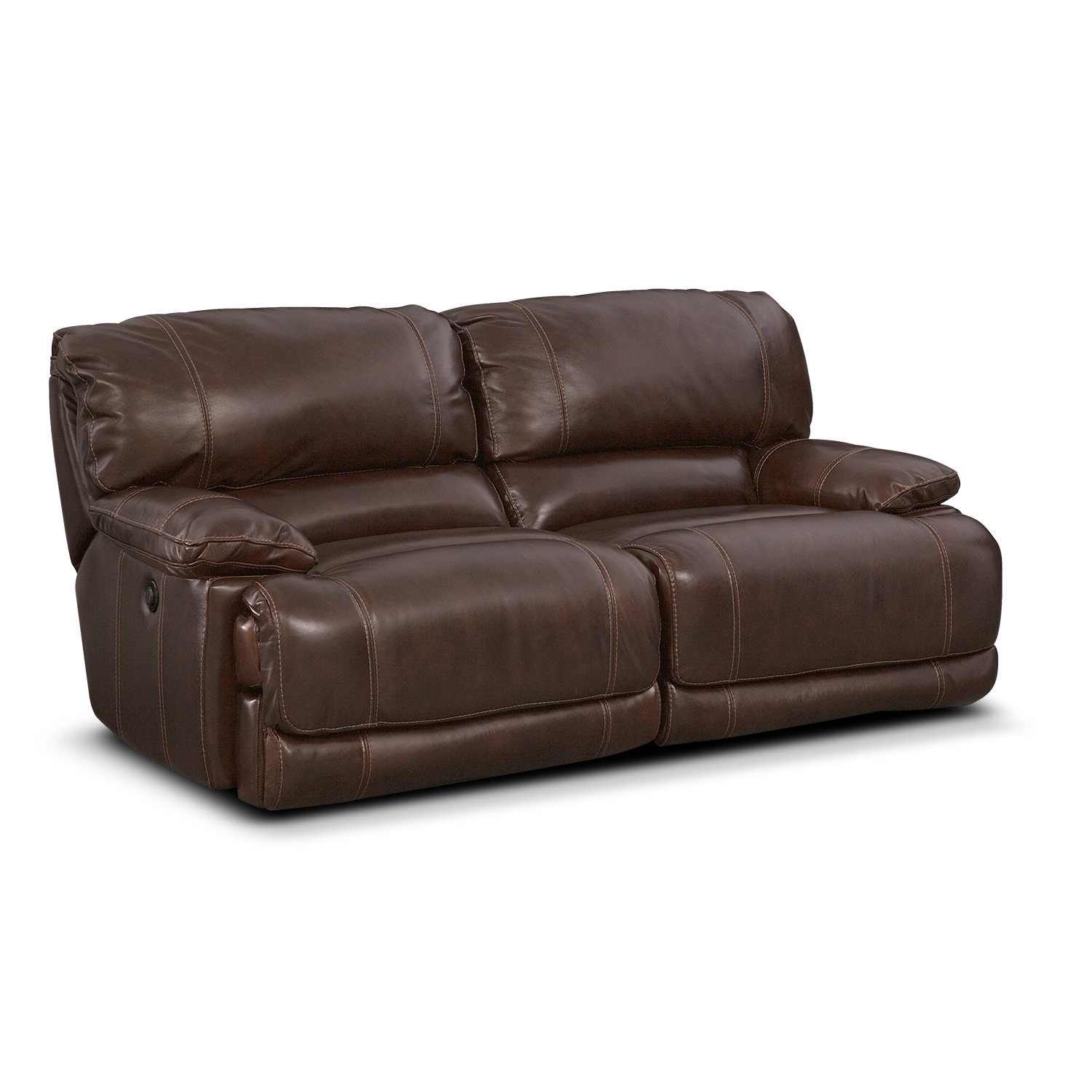 sofa room leeson st khaki colored leather malo power reclining brown value city