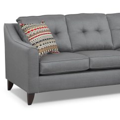 Marco Gray Chaise Sofa Sleeper Sofas Las Vegas - | Value City Furniture And Mattresses