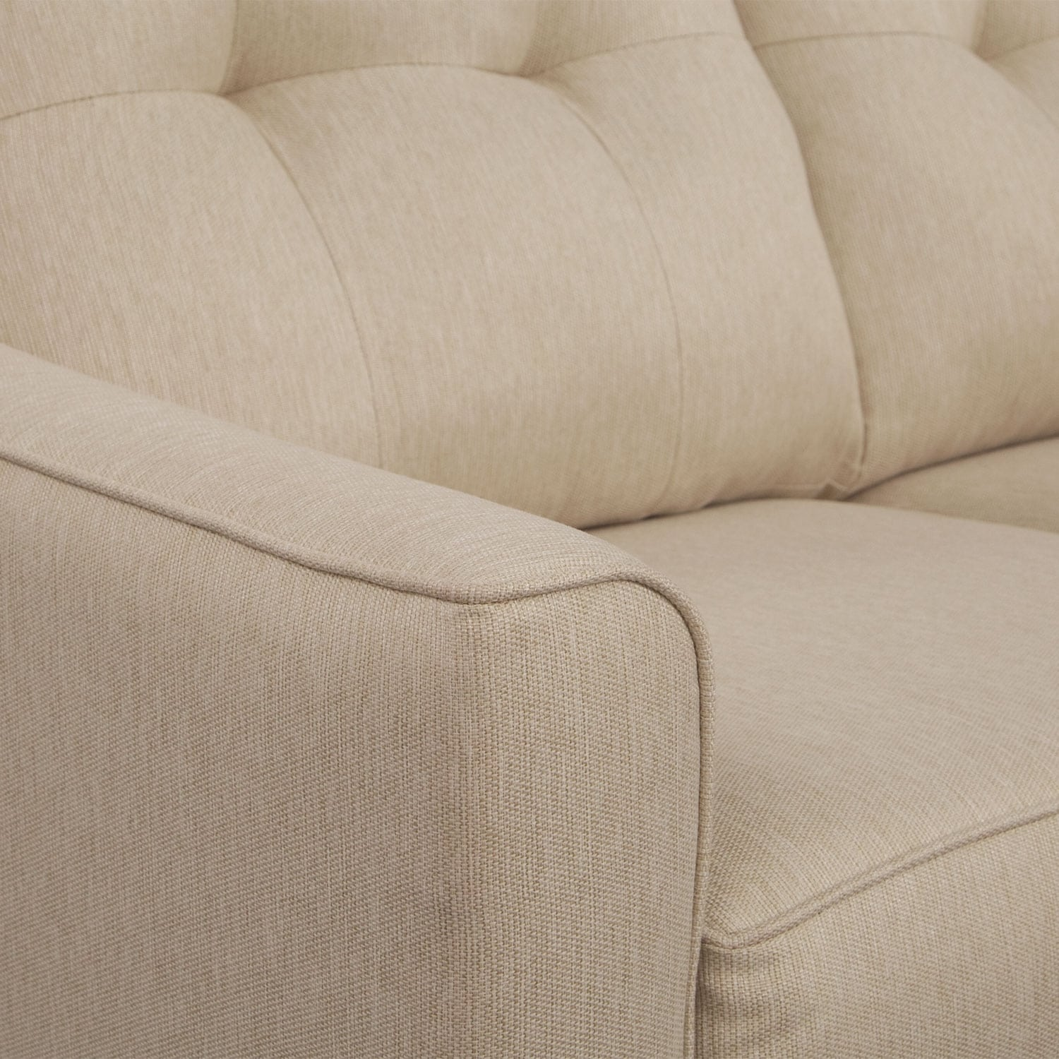 marco cream chaise sofa by factory outlet cushion refilling manchester value city furniture