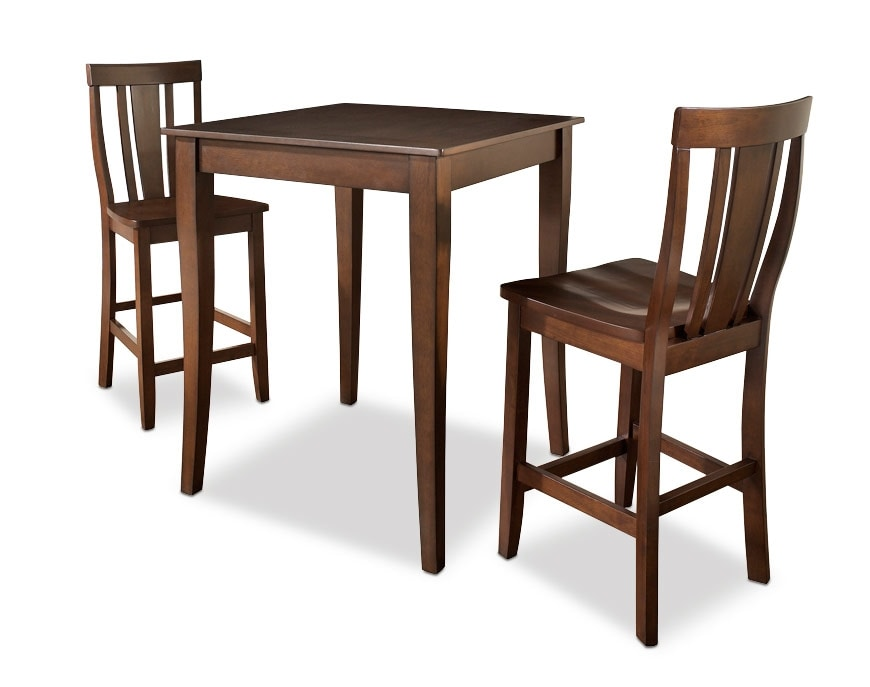 just chairs and tables swivel chair quotes west pub table 2 mahogany value city furniture dining room