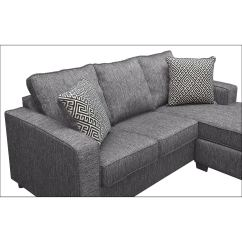 Sterling Sofa Moroso Malaysia Innerspring Sleeper With Chaise Charcoal