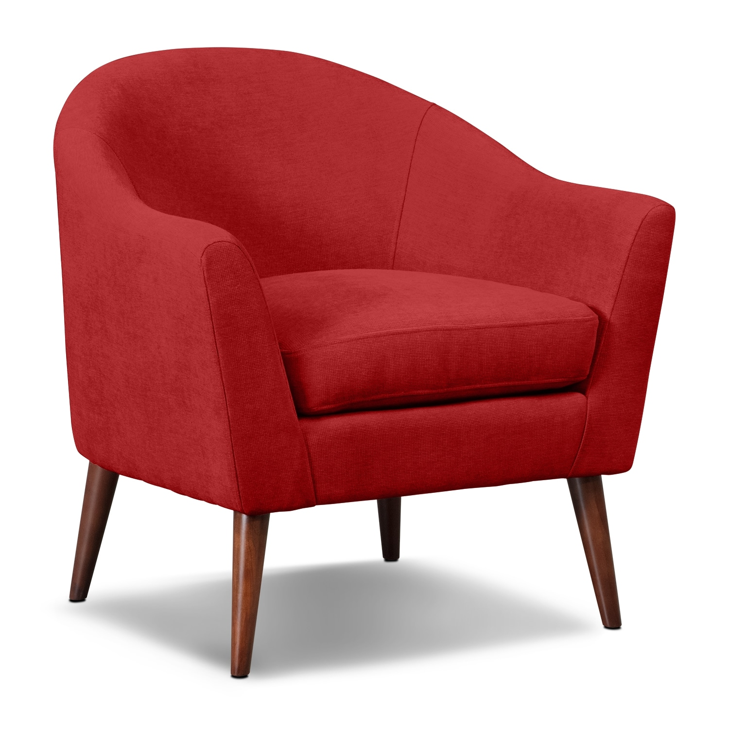 Rosa Accent Chair  Red  Value City Furniture