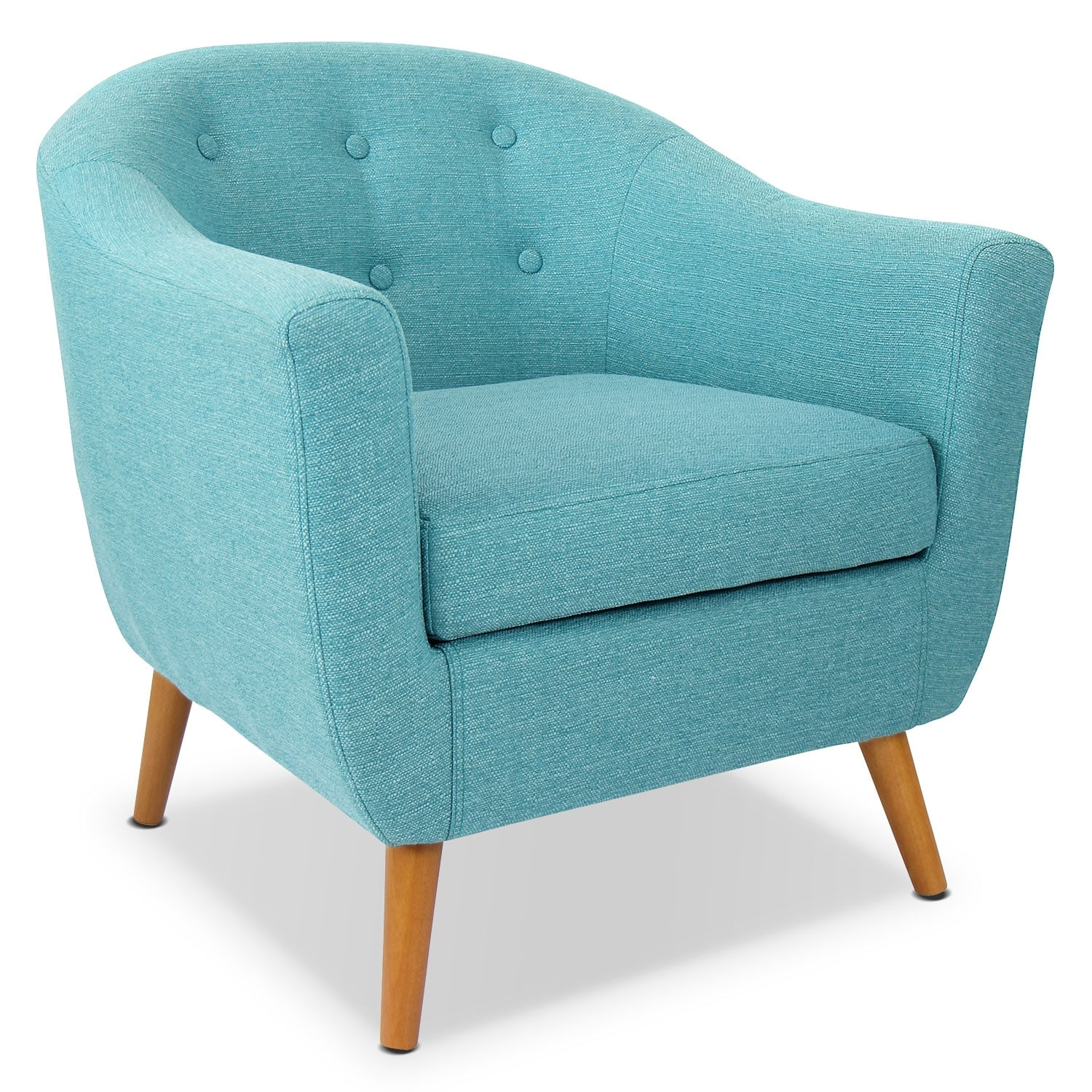 teal accent chair girl potty chairs norman value city furniture and mattresses living room
