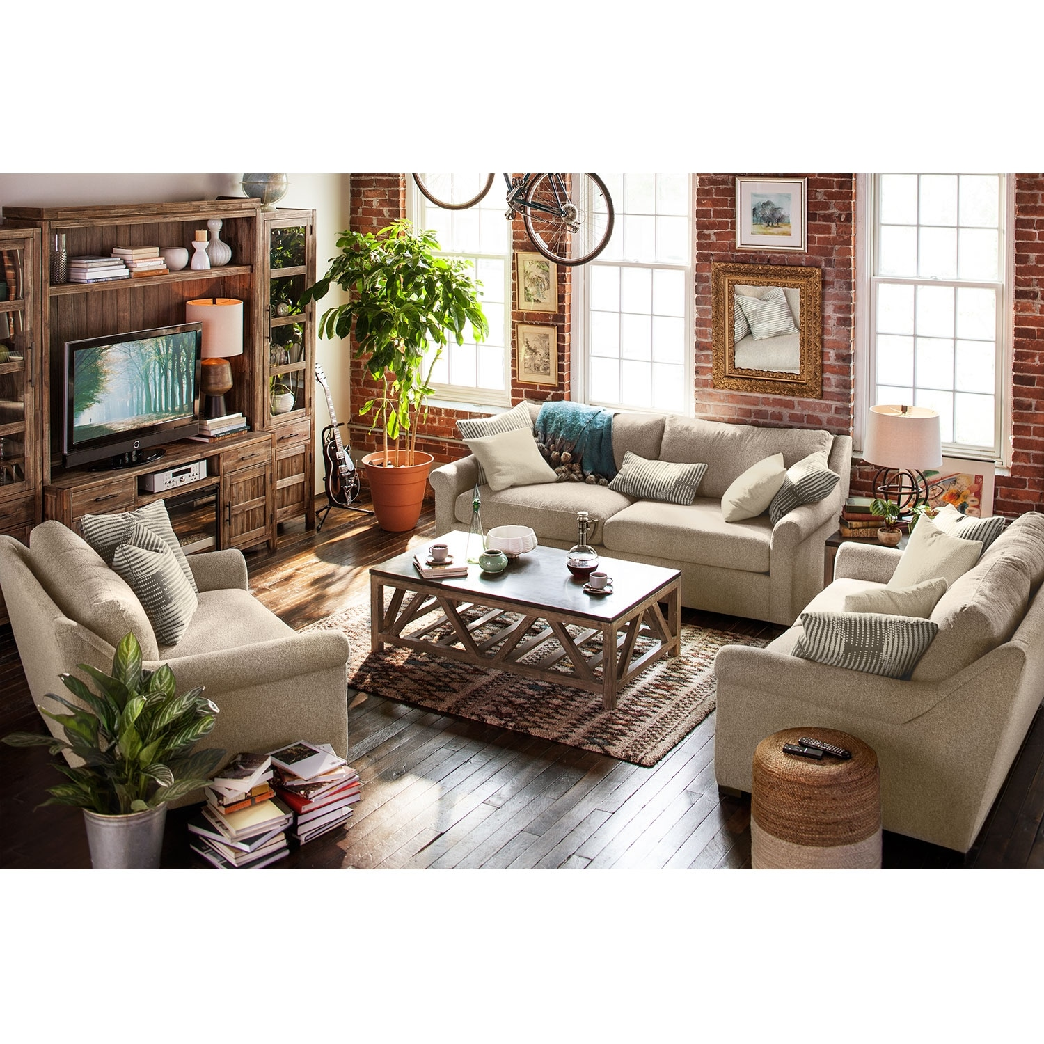loveseat and chair a half swing for balcony robertson comfort sofa set