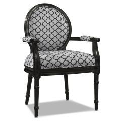 Black And White Paisley Accent Chair Man Hanging Upside Down From Chairlift Chairs Value City Furniture