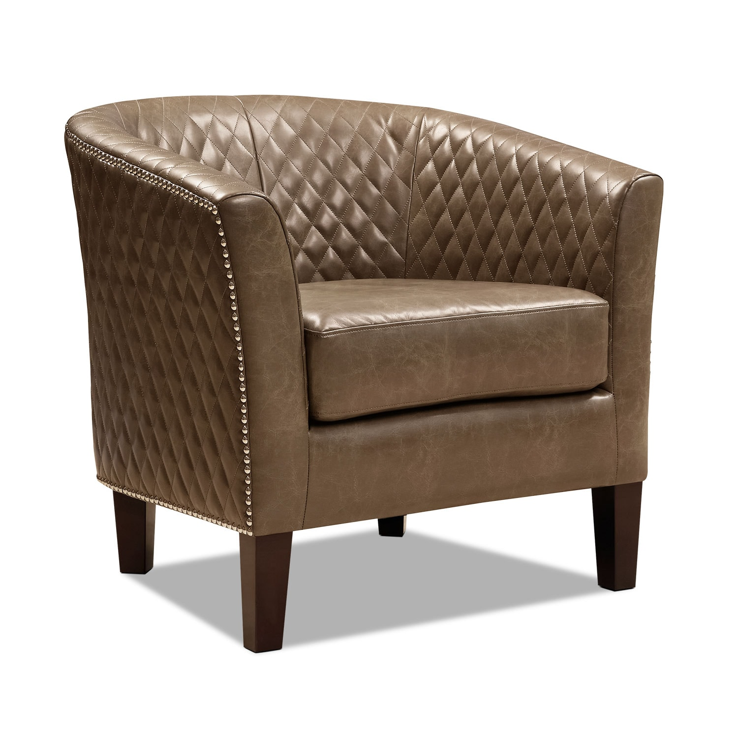 Value City Chairs Luxor Accent Chair Brown Value City Furniture