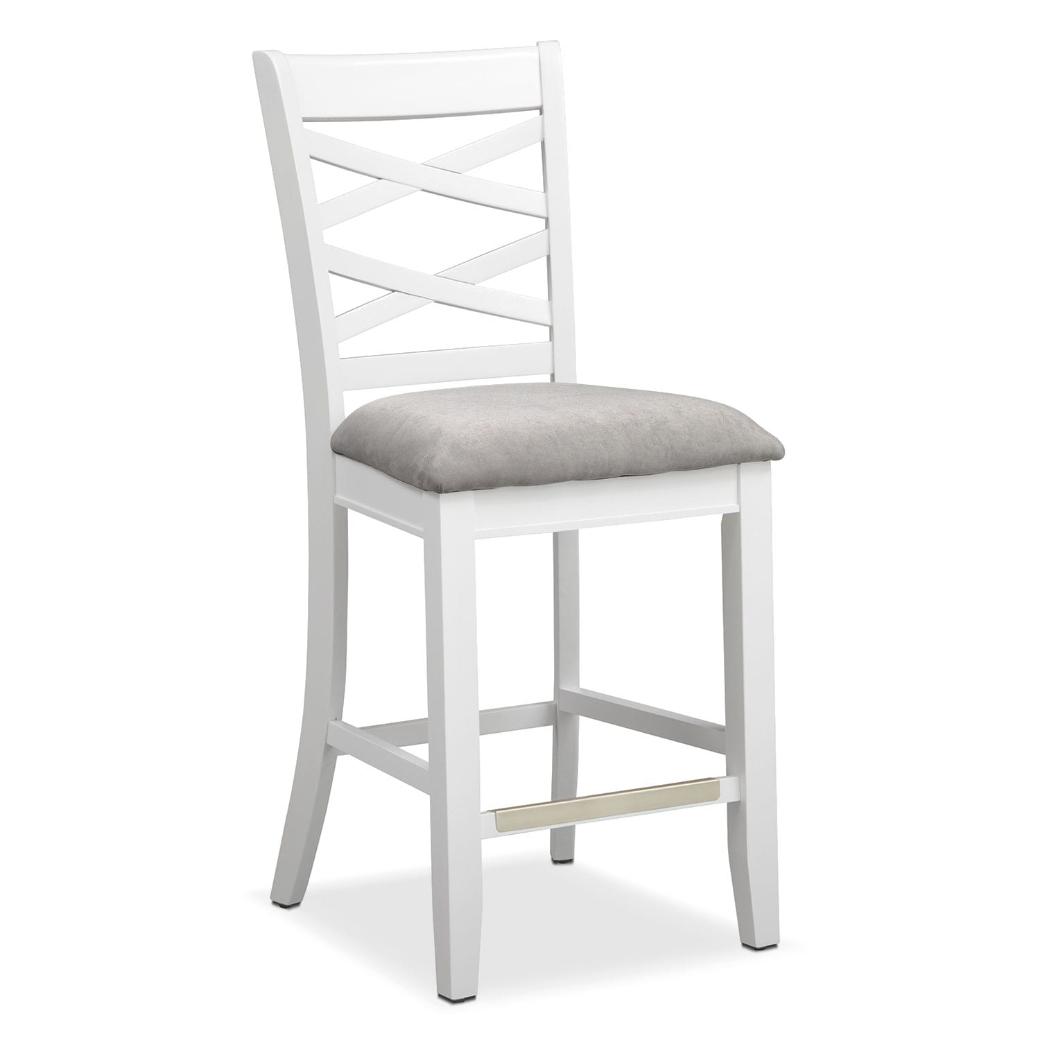 White Counter Height Chairs Counter And Bar Stools Value City Furniture