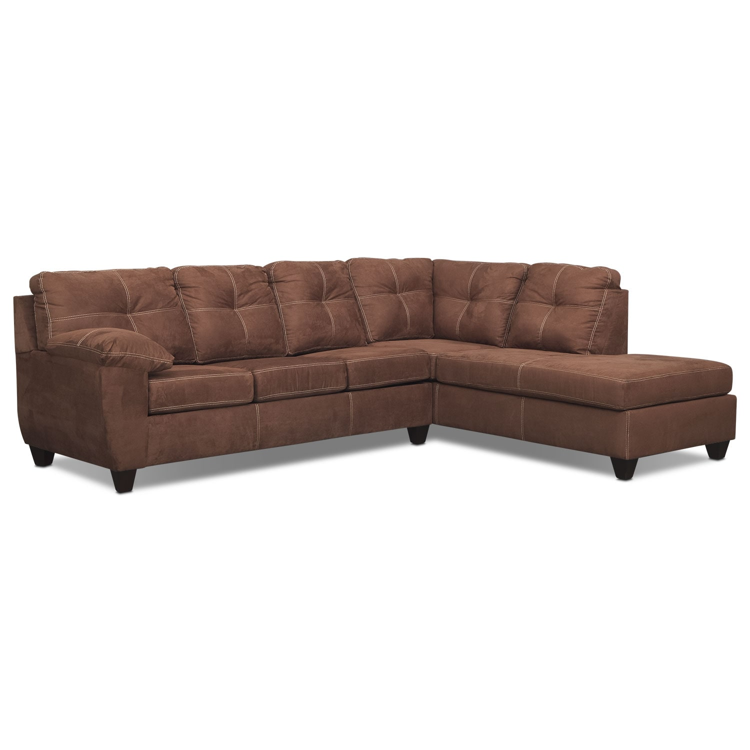 back of sofa facing fireplace mart sectional ricardo 2 piece memory foam sleeper with right