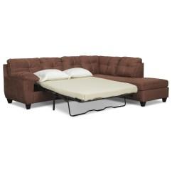 Where To Donate Sectional Sofa Sofasandmore Ricardo 2 Piece Memory Foam Sleeper With Right
