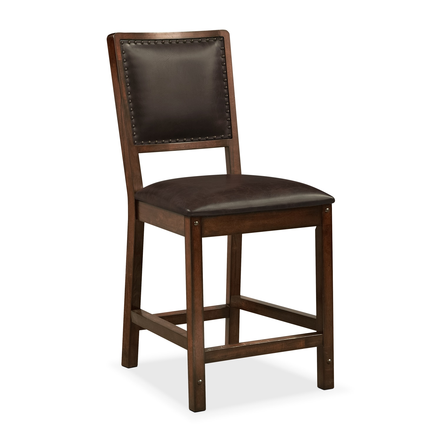 Bar Height Dining Chairs Newcastle Counter Height Side Chair Mahogany Value