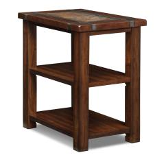 Chair Side End Table Sleep Recliner Slate Ridge Chairside Cherry Value City Furniture