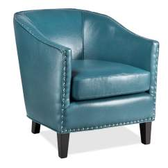 Blue Accent Chairs For Living Room Folding Chair Covers Sale Weddings Ada Value City Furniture And Mattresses