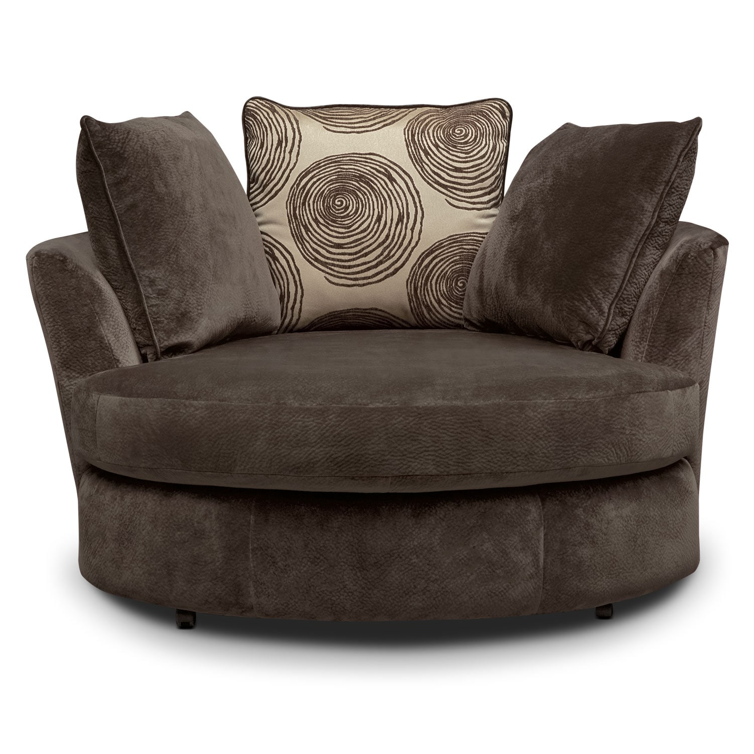 Couch Chair Cordelle Swivel Swivel Chair Value City Furniture And