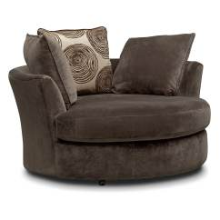 Swivel Chair In Living Room Build Adirondack Cordelle Value City Furniture And Mattresses