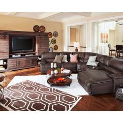 Value City Furniture Living Room Sets Desins The St Malo Collection Brown And Mattresses