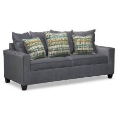 Value City Furniture Marco Chaise Sofa Small Circular Factory Outlet Home |