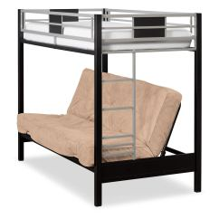 Loft Bed With Chair Futon Modern Egg Chairs Twin Full Bunk