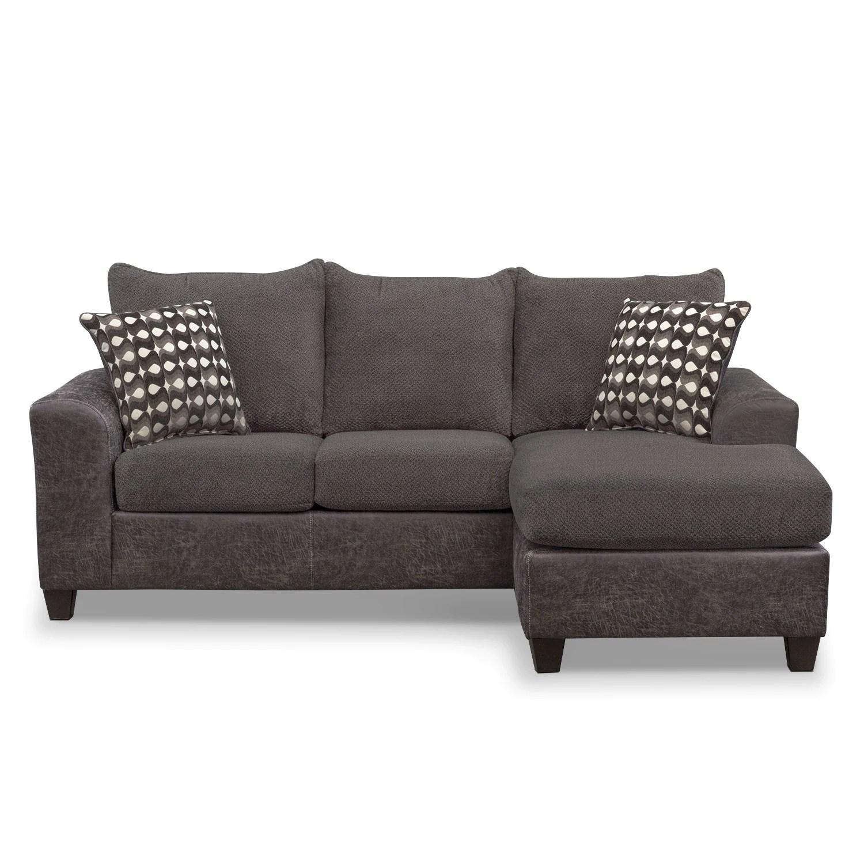 sofa w chaise sofas costa del sol brando with value city furniture and mattresses