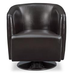 Swivel Chair Value City Reclaimed Wood Rocking Santana Black Furniture And