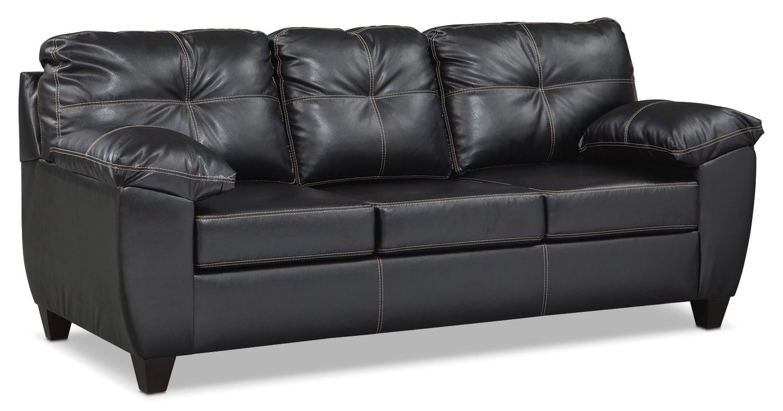 Ricardo Queen Memory Foam Sleeper Sofa - Onyx