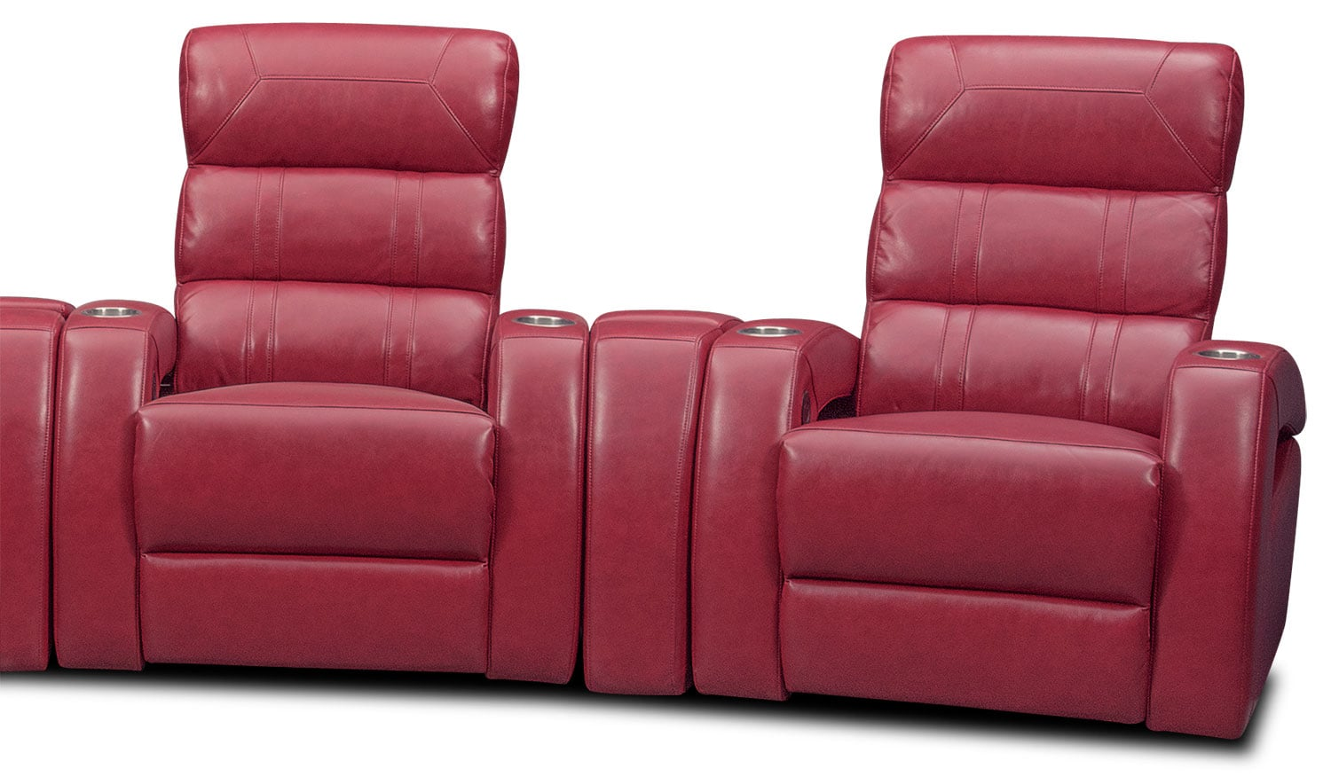 home theater chair repair eames eiffel bravo 7 piece power reclining sectional red