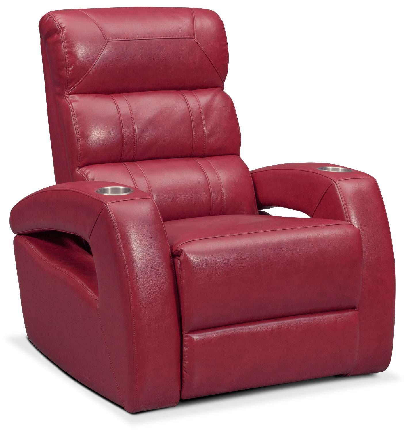 red recliner chairs round table and chair set bravo power value city furniture mattresses