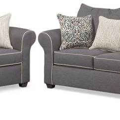 Accent Sofa Hickory Chair Table Carla Loveseat And Set Gray Value City