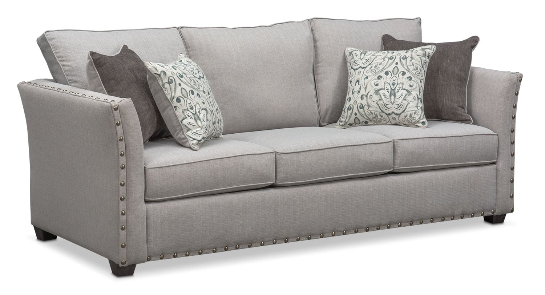 pewter sofa bed most comfortable ikea mckenna queen memory foam sleeper value