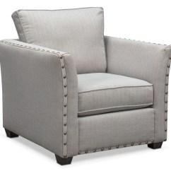 Pewter Chair Wheelchair Travel Mckenna Value City Furniture