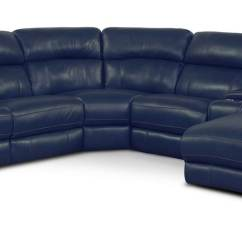 Alessandro Leather Power Motion Sofa Reviews Camper Slipcovers Newport 6 Piece Reclining Sectional With Right Facing Chaise And 2 Recliners