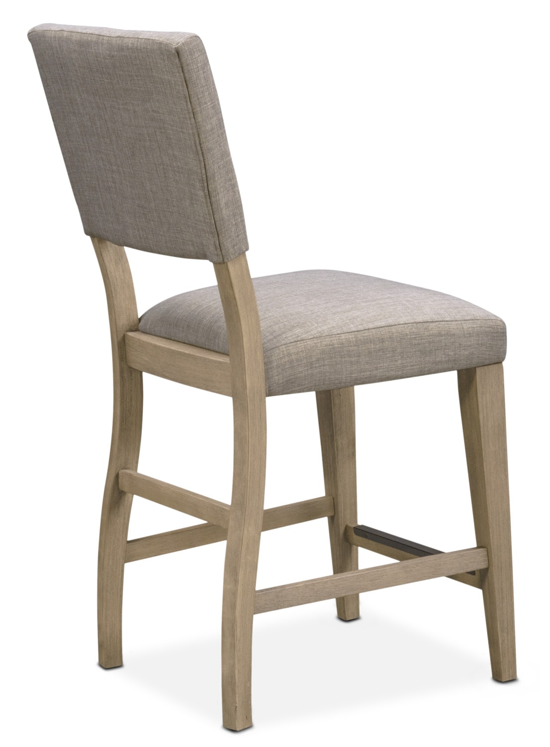 upholstered counter height chair wheelchair crash tribeca side gray