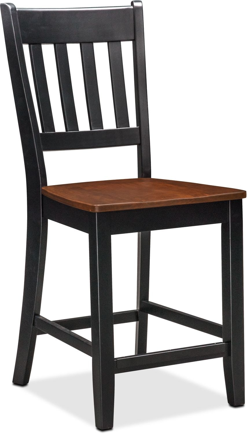 counter height chairs with back used plastic folding wholesale nantucket table and 4 slat black cherry