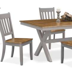 Value City Dining Table And Chairs Kms Fishing Chair The Nantucket Collection Oak Gray