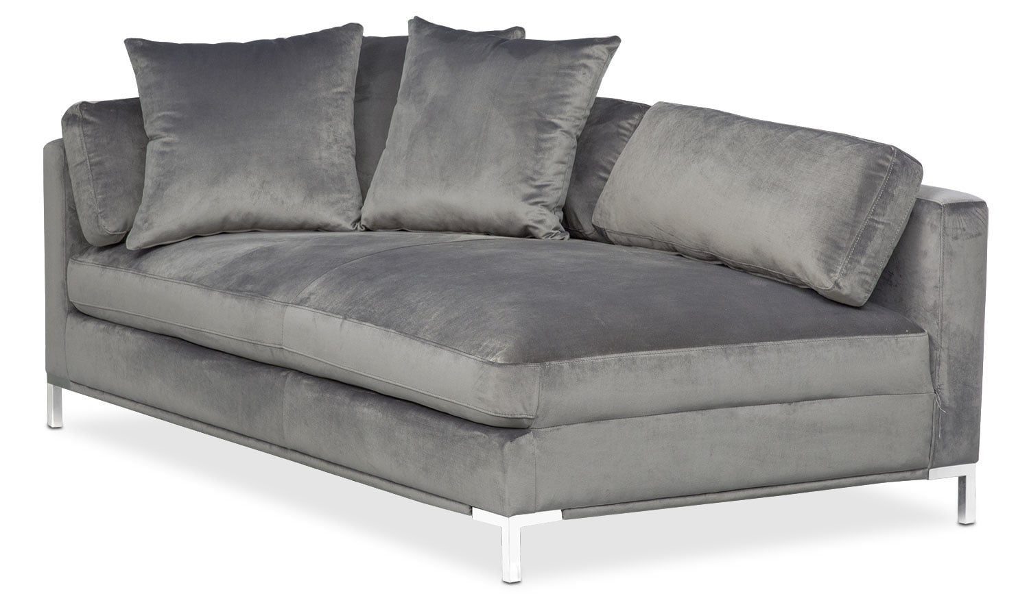 sleeper sofas chicago il sofa clearance store london value city furniture northlake 60164 moda left facing chaise gray