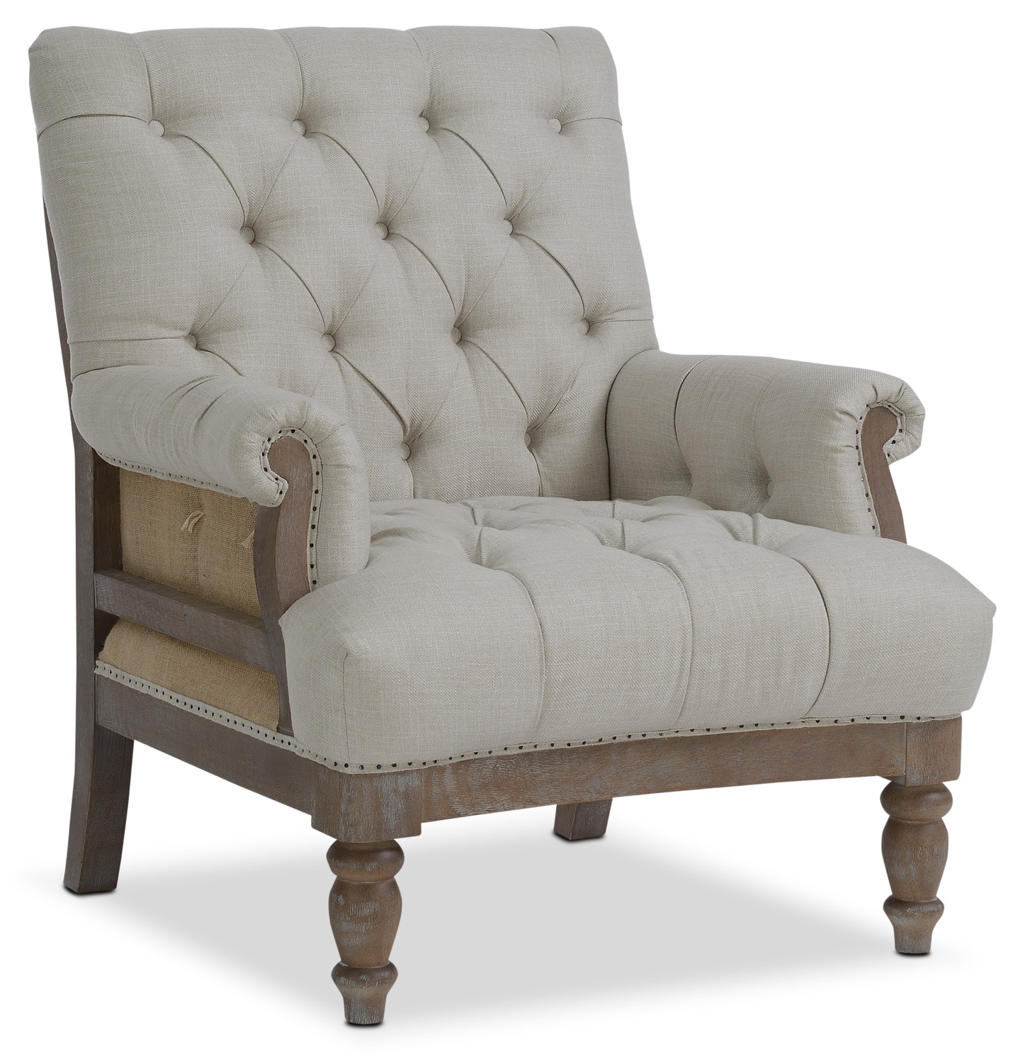 Cream Accent Chair Bridget Accent Chair Cream Value City Furniture And