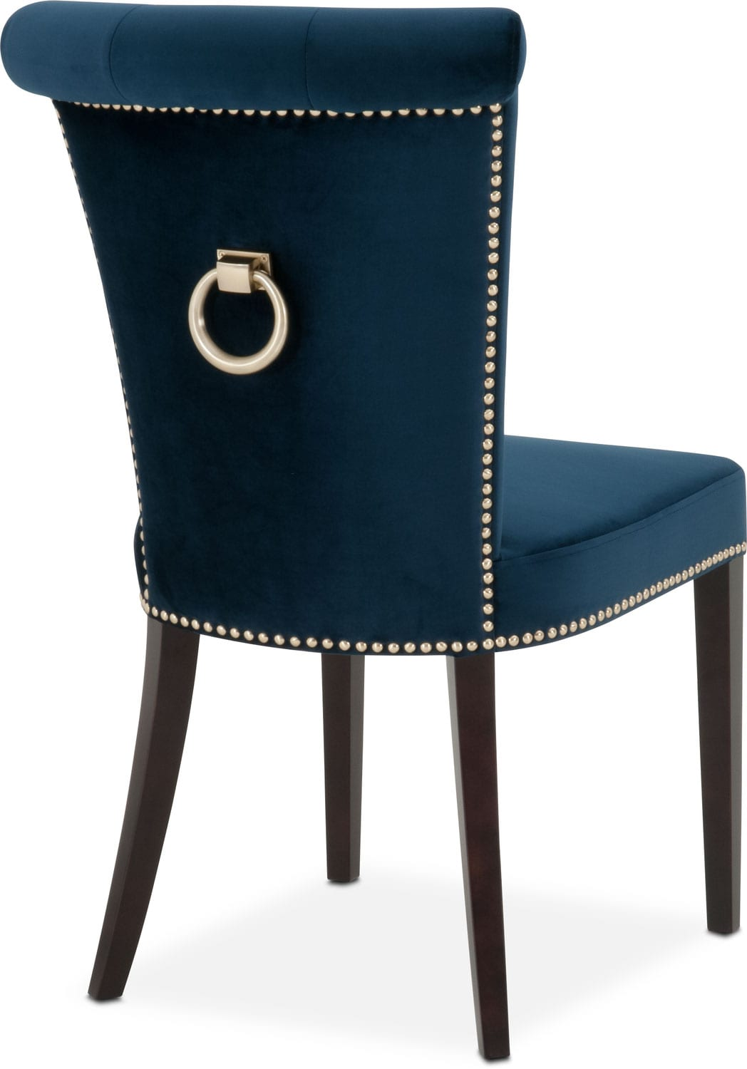 Navy Dining Room Chairs Calloway Side Chair Navy Gold Value City Furniture And