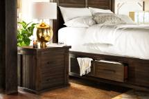 Tribeca King Storage Bed With 4 Underbed Drawers - Tobacco