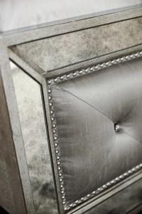 Angelina 6-Piece Queen Upholstered Bedroom Set - Metallic ...