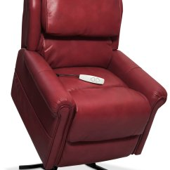 Power Lift Chair Repair Collapsible Plans Grace Recliner Red Value City Furniture And