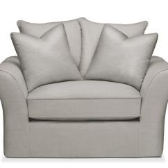 One And A Half Chair Iron Lounge Chairs Allison Comfort In Dudley Gray Value