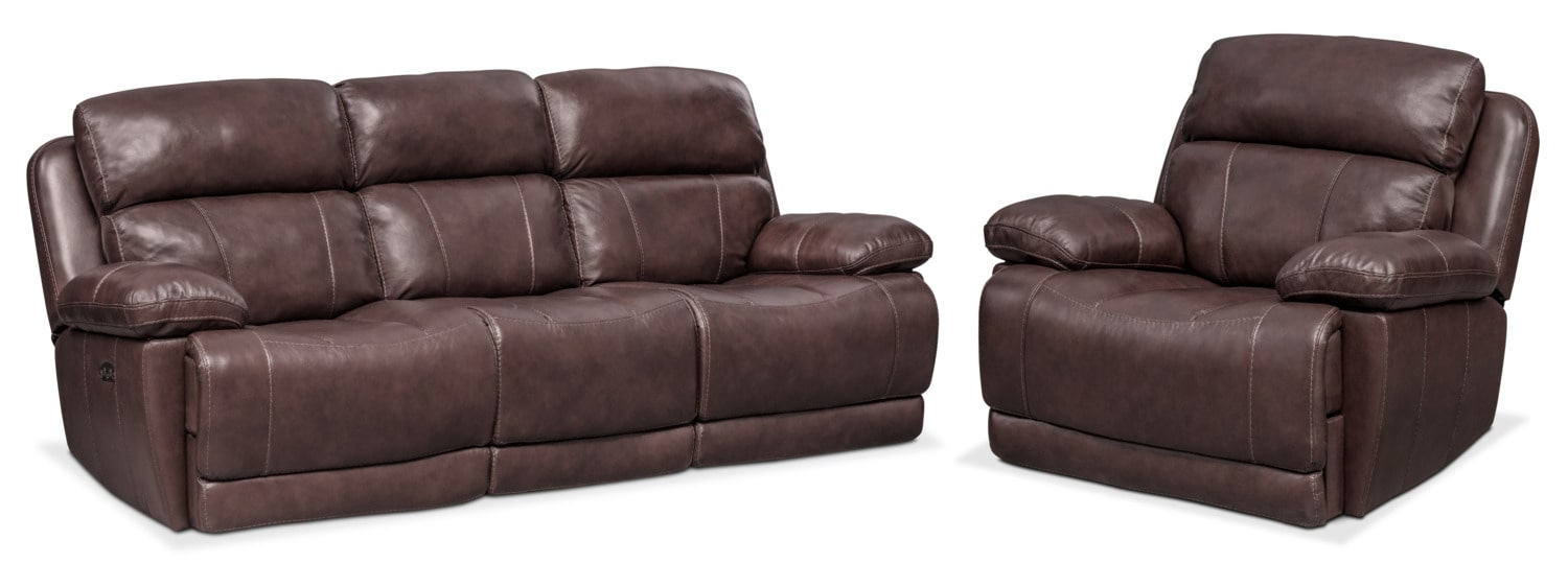 leather couch and chair gaming ikea living room furniture value city tap to change monte carlo dual power reclining sofa recliner set