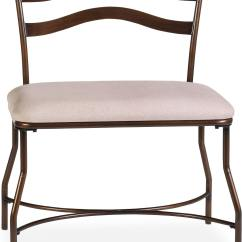 Pottery Barn Windsor Chair One And A Half Person Province Vanity Bench Bronze Value City Furniture