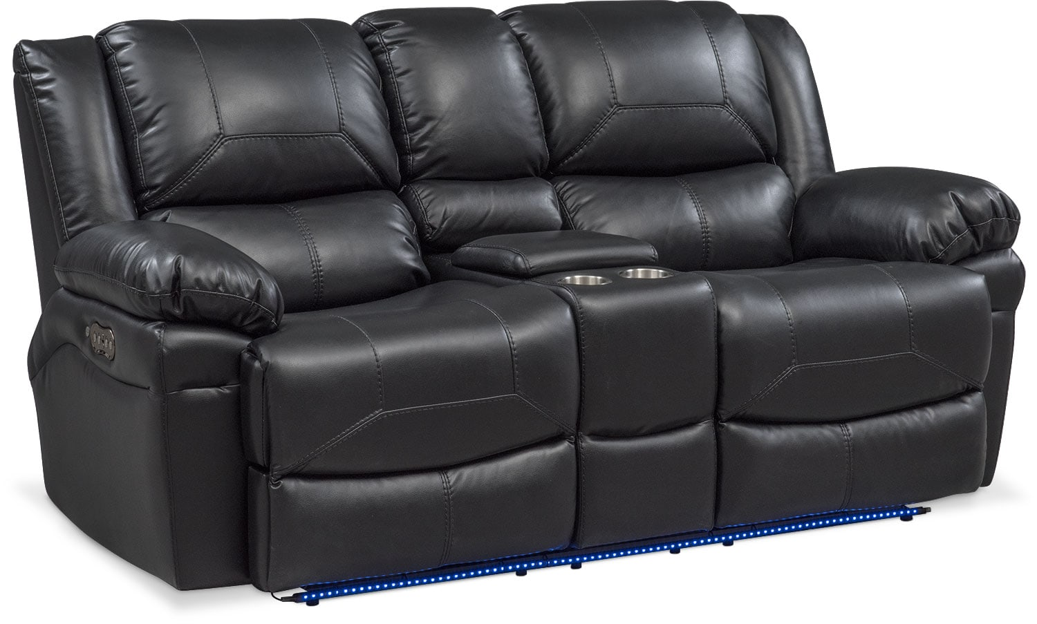 Reclining Loveseat Aria Power Reclining Loveseat With Center