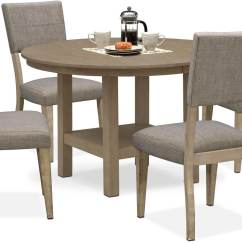 Side Table For Recliner Chair Oversized Chaise Lounge Tribeca Round Dining And 4 Upholstered Chairs