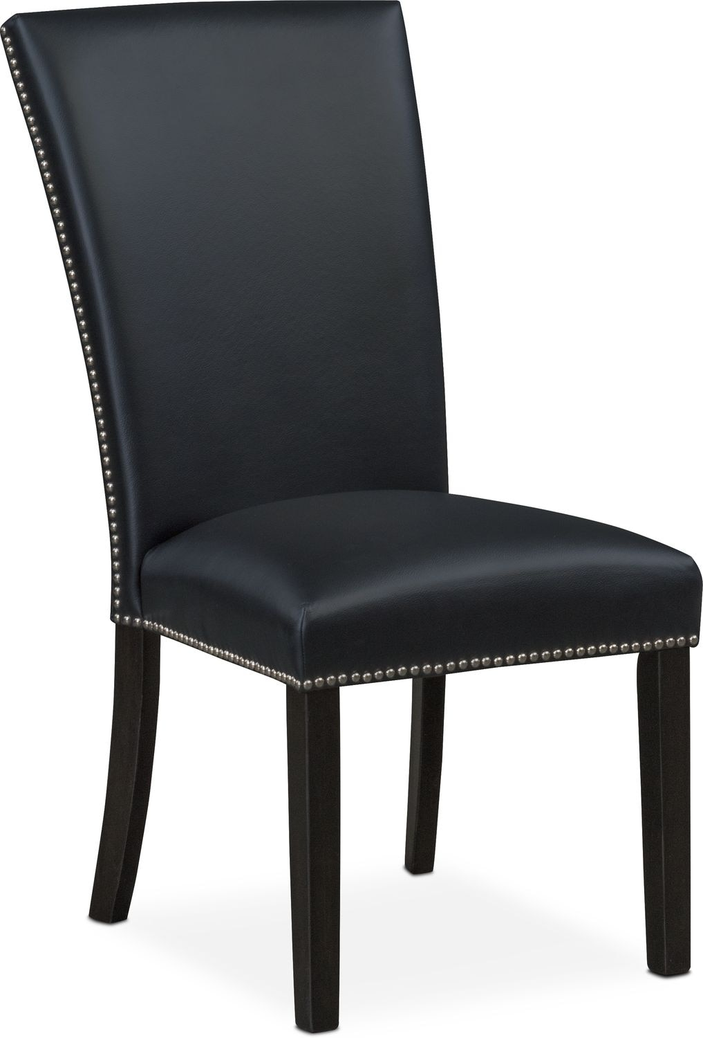 black side chair swing autocad block artemis value city furniture and mattresses