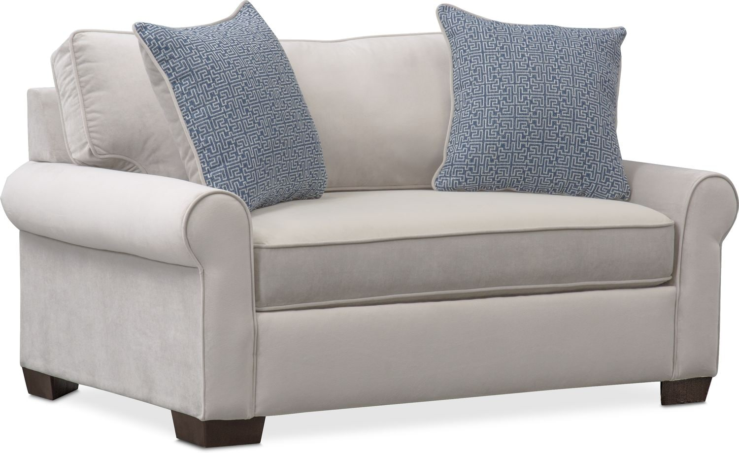 chair and a half sleeper chaise lounge patio blake twin value city furniture click to change image