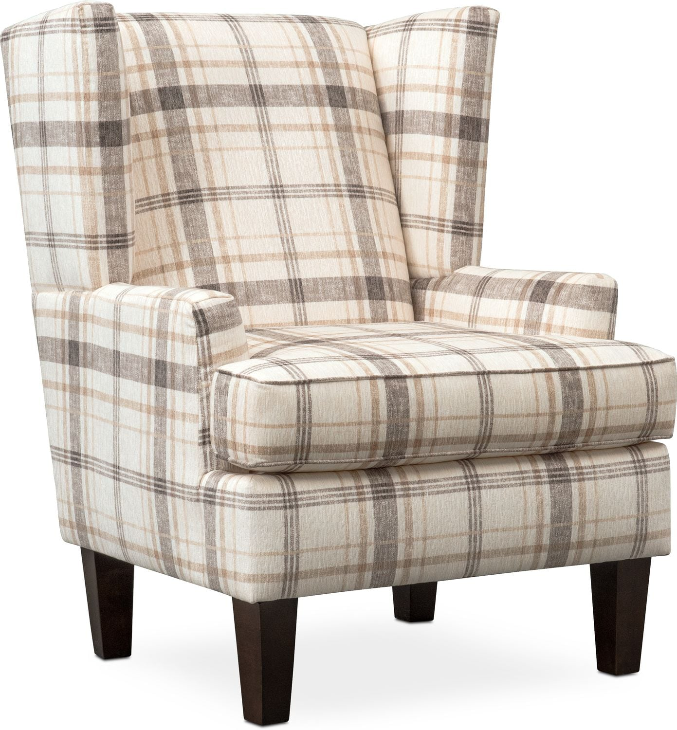 Plaid Living Room Chairs  Design Ideas Inspirations