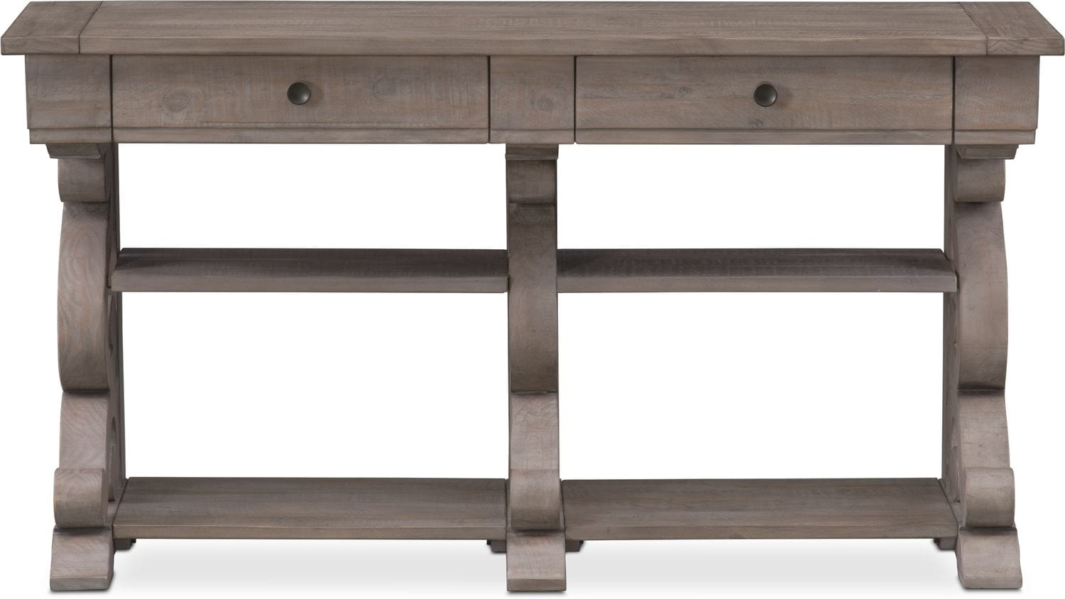 Charthouse Sofa Table - Gray