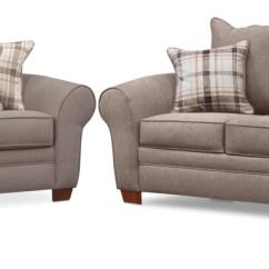 Accent Sofa Dora Toddler Chair And Ottoman Set Rowan Loveseat Gray Value City Living Room Furniture